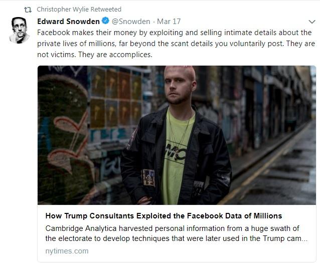 Tweet Edwarda Snowdena