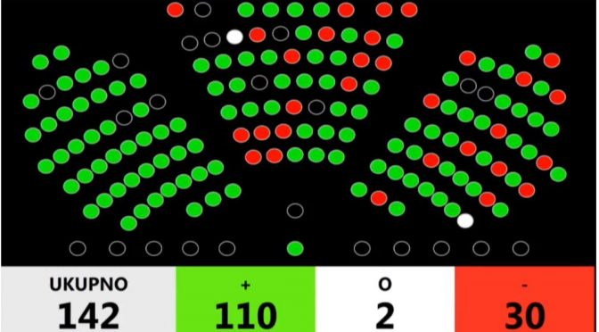 Netočne informacije o saborskim zastupnicima i preferencijalnim glasovima