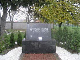 Lažna informacija o oštećenom spomeniku poginulim redarstvenicima u Borovu Selu